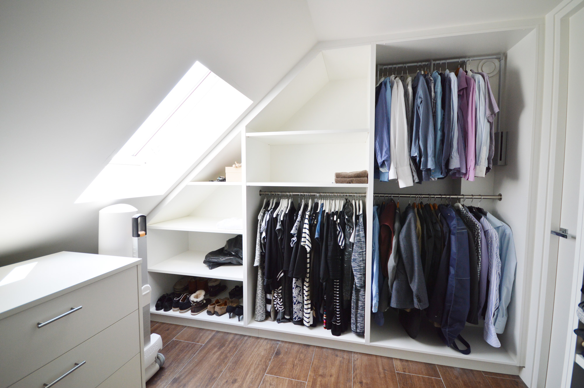 Met Badkamer En Inloopkast : met open keuken als de slaapkamer met ...